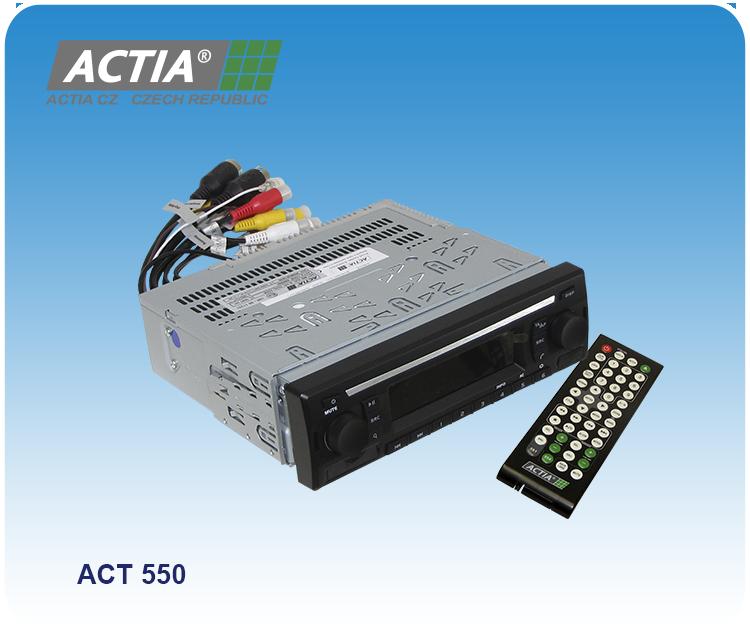 Přejít na stránku: Multimediální přehrávače ACTIA