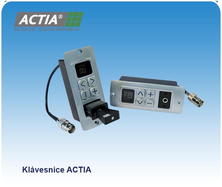 Přejít na stránku: Multikanálový audio systém ACTIA