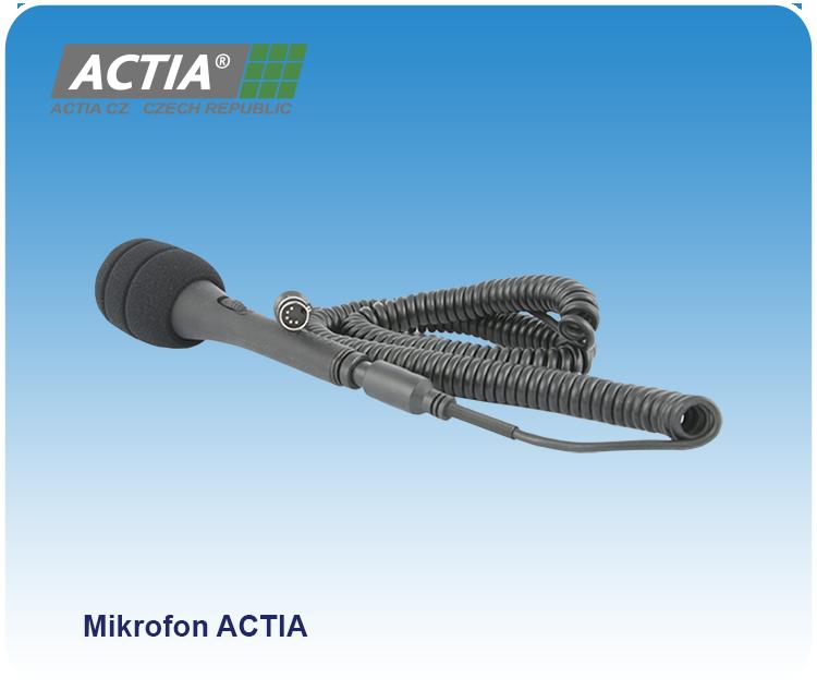 Přejít na stránku: Mikrofony ACTIA