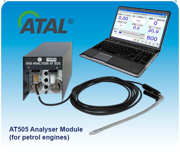 více info o AT505 (Modul analyzátoru)