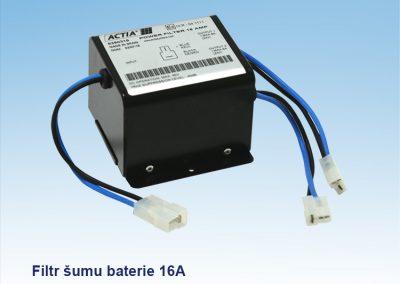 Filtr šumu baterie 16A